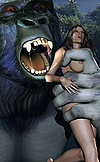 3000 BC babes fight off prehistoric monsters